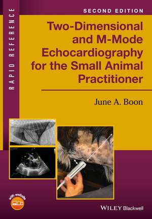 Two–Dimensional and M–Mode Echocardiography for the Small Animal Practitioner