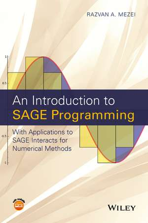 An Introduction To Sage Programming: With Applicat
