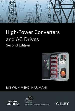 High–Power Converters and AC Drives de Bin Wu