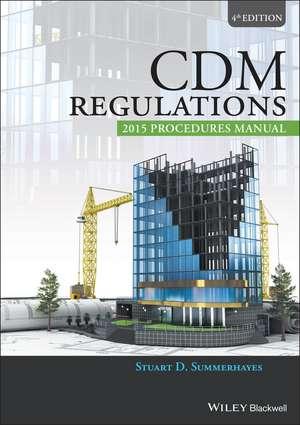 CDM Regulations 2015 Procedures Manual