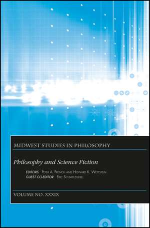 Philosophy and Science Fiction, Volume XXXIX