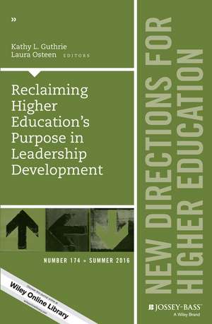 Reclaiming Higher Education′s Purpose in Leadership Development