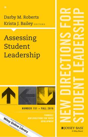 Assessing Student Leadership