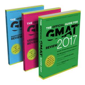 The Official Guide to the GMAT Review 2017 Bundle + Question Bank + Video de GMAC (Graduate Management Admission Council)