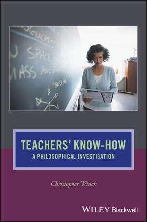 Teachers′ Know–How