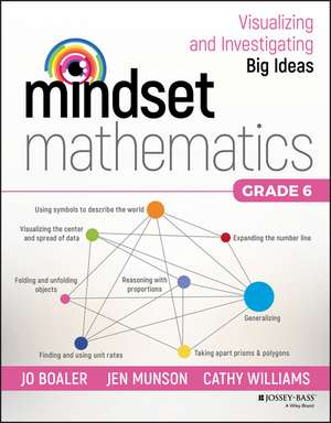 Mindset Mathematics: Visualizing and Investigating Big Ideas, Grade 6 imagine