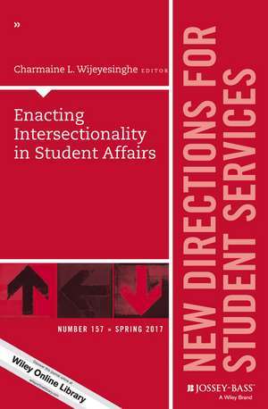 Enacting Intersectionality in Student Affairs