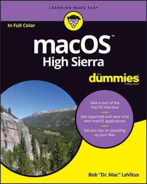 macOS High Sierra For Dummies de Bob LeVitus