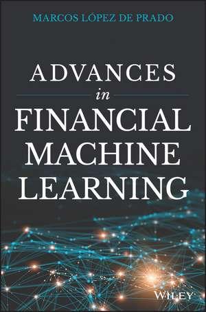 Advances in Financial Machine Learning imagine