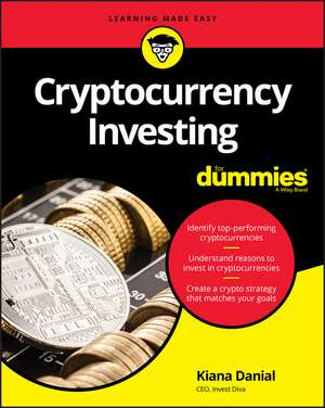Cryptocurrency Investing For Dummies imagine