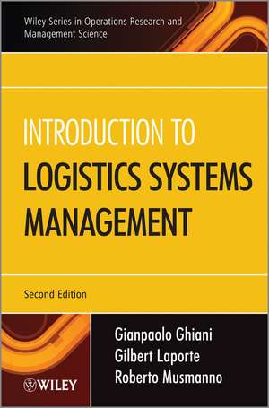 Introduction to Logistics Systems Management