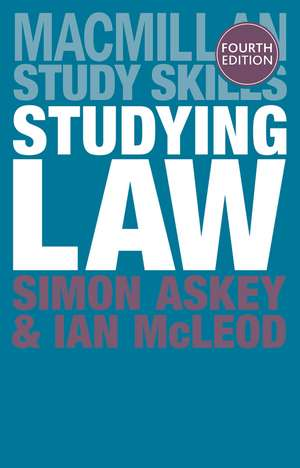 Studying Law imagine