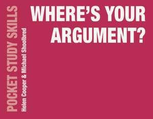 Where's Your Argument? imagine