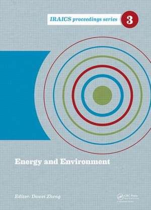Energy and Environment de Dawei Zheng