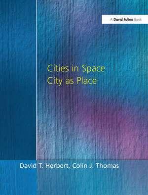 CITIES IN SPACE de Herbert