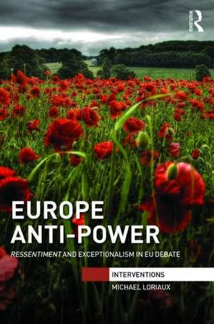 Europe Anti-Power de Michael Loriaux