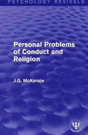 Personal Problems of Conduct and Religion