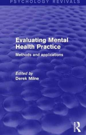 Evaluating Mental Health Practice (Psychology Revivals)