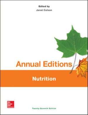 Annual Editions: Nutrition, 27/e