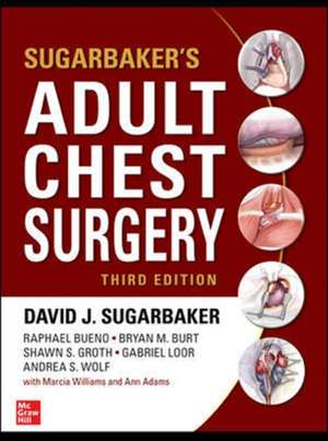 Sugarbaker's Adult Chest Surgery, 3rd edition imagine