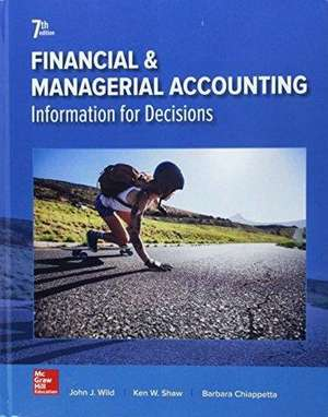 Gen Combo Financial and Managerial Accounting; Connect Access Card de John Wild