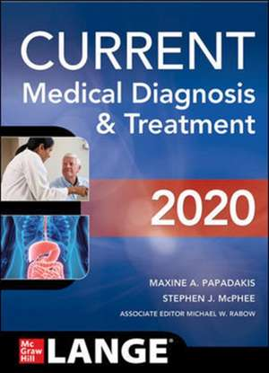 CURRENT Medical Diagnosis and Treatment 2020 imagine