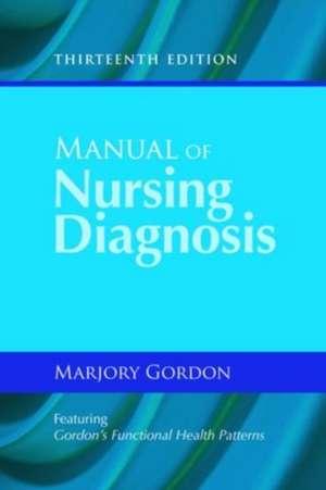 Manual of Nursing Diagnosis de Marjory Gordon