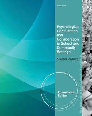 Dougherty, A: Psychological Consultation and Collaboration i
