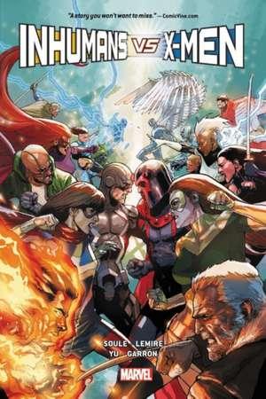 Inhumans Vs. X-men de Charles Soule