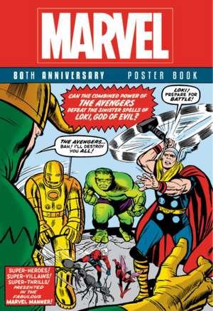 Marvel 80th Anniversary Poster Book de Marvel Comics