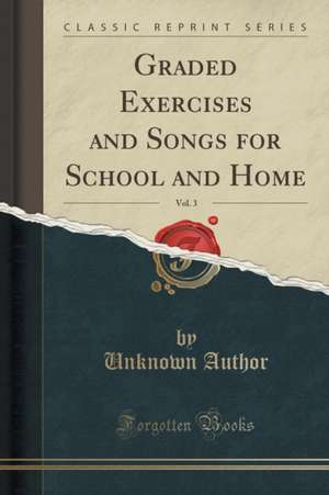 Cartea graded exercises and songs for school and home vol for Classic house mastercuts vol 3