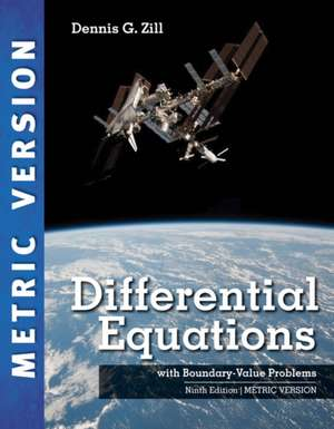 Differential Equations with Boundary-Value Problems, 9e, International Metric Edition
