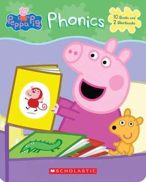 Peppa Phonics Boxed Set (Peppa Pig) de Scholastic