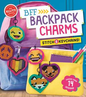 BFF Backpack Charms de  Editors of Klutz