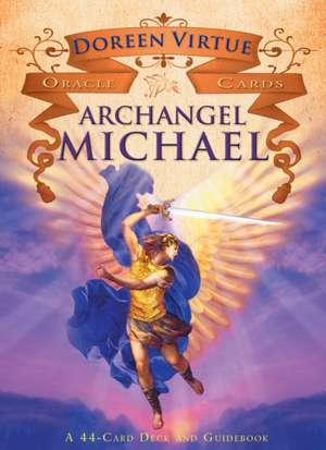 Archangel Michael Oracle Cards:  A 44-Card Deck and Guidebook de Doreen Virtue