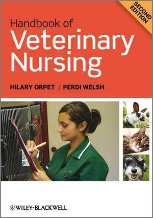 Handbook of Veterinary Nursing imagine