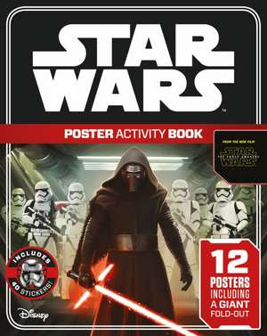 Star Wars, The Force Awakens Poster Activity Book