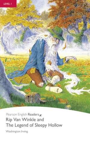 Level 1: Rip Van Winkle & The Legend of Sleepy Hollow Book & CD Pack de Washington Irving