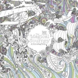 The Magical Journey: A Colouring Book de Lizzie Mary Cullen