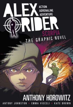 Scorpia Graphic Novel de Anthony Horowitz