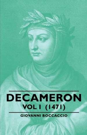 Decameron - Vol I (1471) de Giovanni Boccaccio