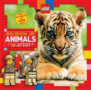 LEGO Big Book of Animals de Scholastic