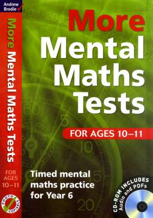 More Mental Maths Tests for Ages 10-11