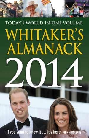 Whitaker's Almanack 2014 de Whitaker's