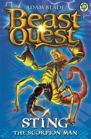 Beast Quest: Sting the Scorpion Man de Adam Blade
