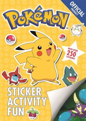 The Official Pokemon Sticker Activity Fun de  Pokemon