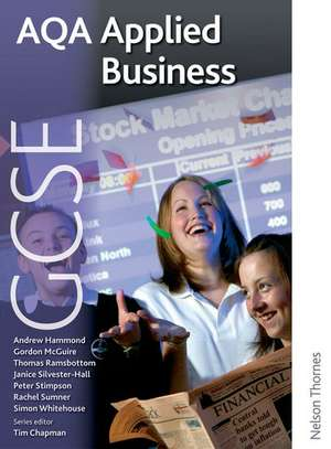 AQA GCSE Applied Business