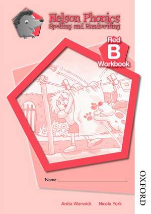 Nelson Phonics Spelling and Handwriting Red Workbooks B (10)