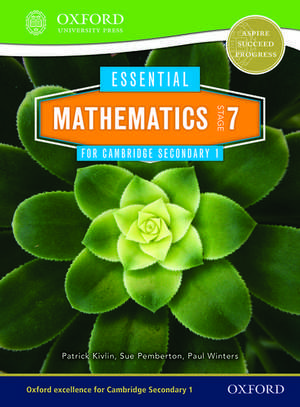 Essential Mathematics for Cambridge Lower Secondary Stage 7 de Sue Pemberton