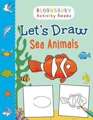 Let's Draw Sea Animals imagine